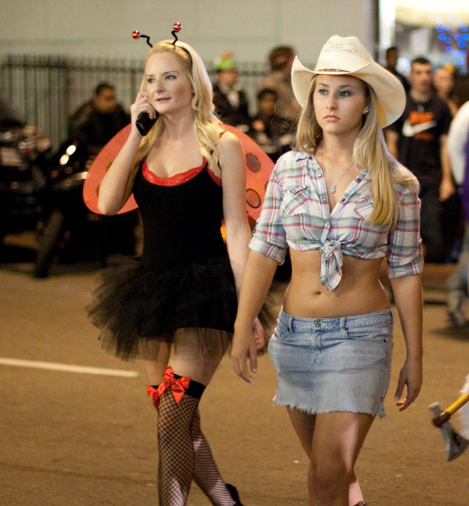 Cowgirl and Ladybug