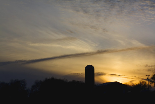 sunset sky clouds barn rural nc farm northcarolina silo lincolncounty davidhopkinsphotography ncpedia