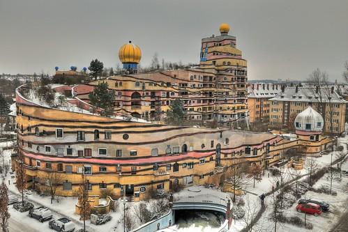 "Hundertwasserhaus ""Waldspirale"" in Darmstadt   by Joachim S. Müller"