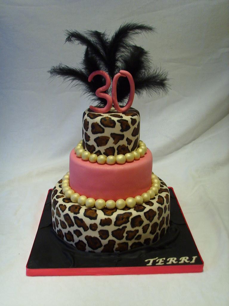 Excellent 30Th Birthday Cake Dare 2 B Different The Birthday Girl Flickr Funny Birthday Cards Online Alyptdamsfinfo