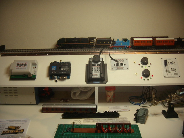 lancashire_fusilier test track station for dc, digitrax dcc and esu  lokprogrammer | by lancashire_fusilier