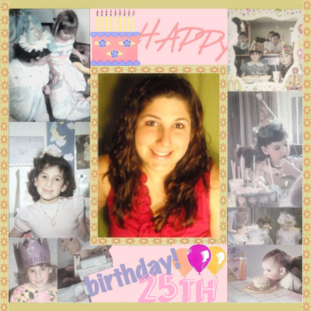 Happy 25th Birthday to my dear Daughter!* | A long distance
