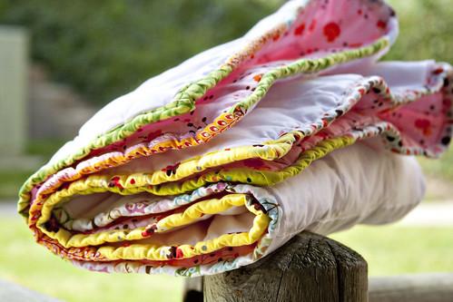 Pieced binding | by Darci - Stitches&Scissors