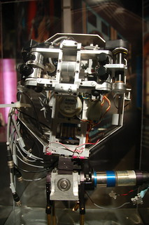 MIT Museum: Cog robot's face | by Chris Devers