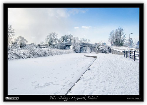 Winter at Pike's Bridge