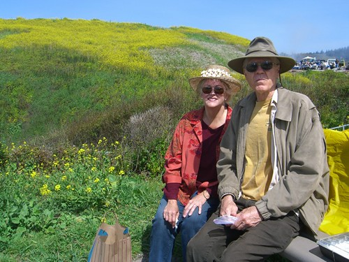 Harry & Gayle at Davenport Landing