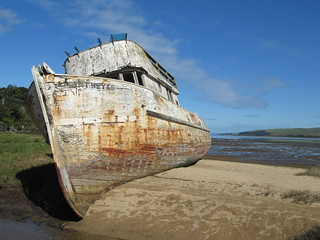 Old Stranded Wreck   by m.gifford