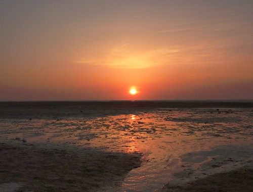 Sunset On Beach 3 (17/04/2010)