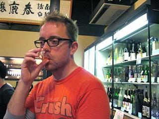 Sake tasting in Nara | by sarahlane
