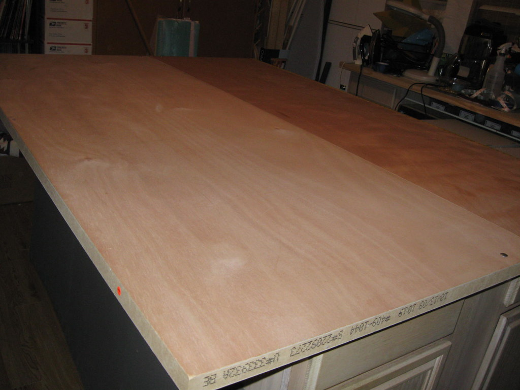 2 Hollow Core Doors 2 Base Kitchen Cabinets Large Work