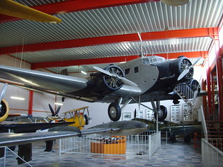 Flugausstellung Hermeskeil Junkers Ju 52 3m - 1   by KlausNahr