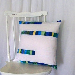 Watercolors Pillow | by PioneerValleyGirl