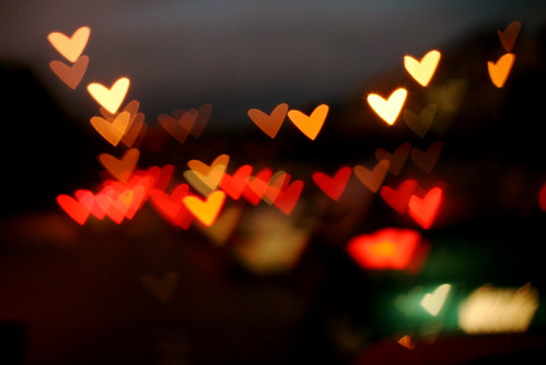 Heart shaped bokeh! | by ohsarahrose