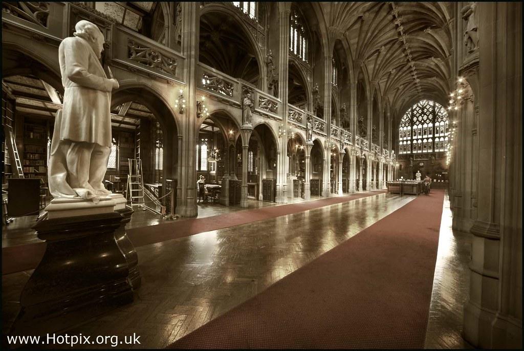365-334 John Rylands Library Historic Reading Room, Manchester UK