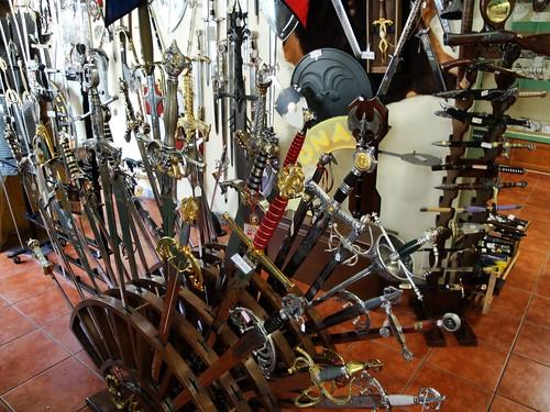 Swords in Toledo, Spain