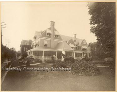 Milton Hershey Lancaster PA home