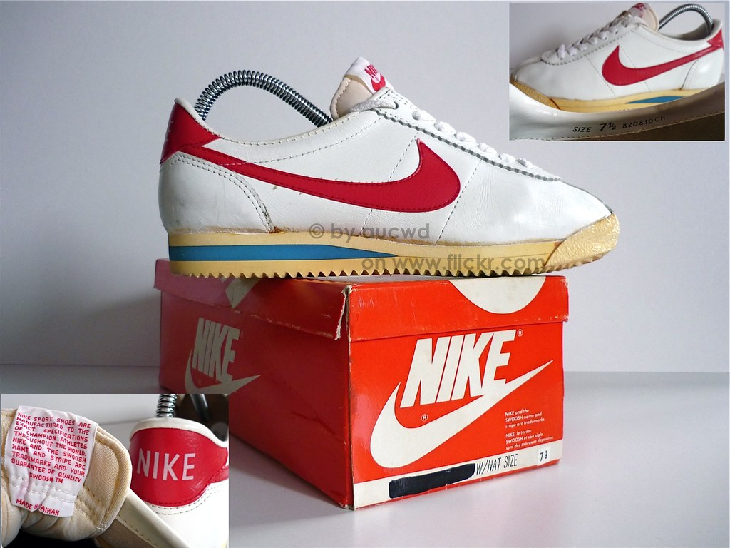 c94043891934 ... 70`S   80`S VINTAGE NIKE CORTEZ RUNNING SHOES