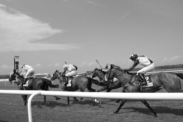 Racing at Musselburgh
