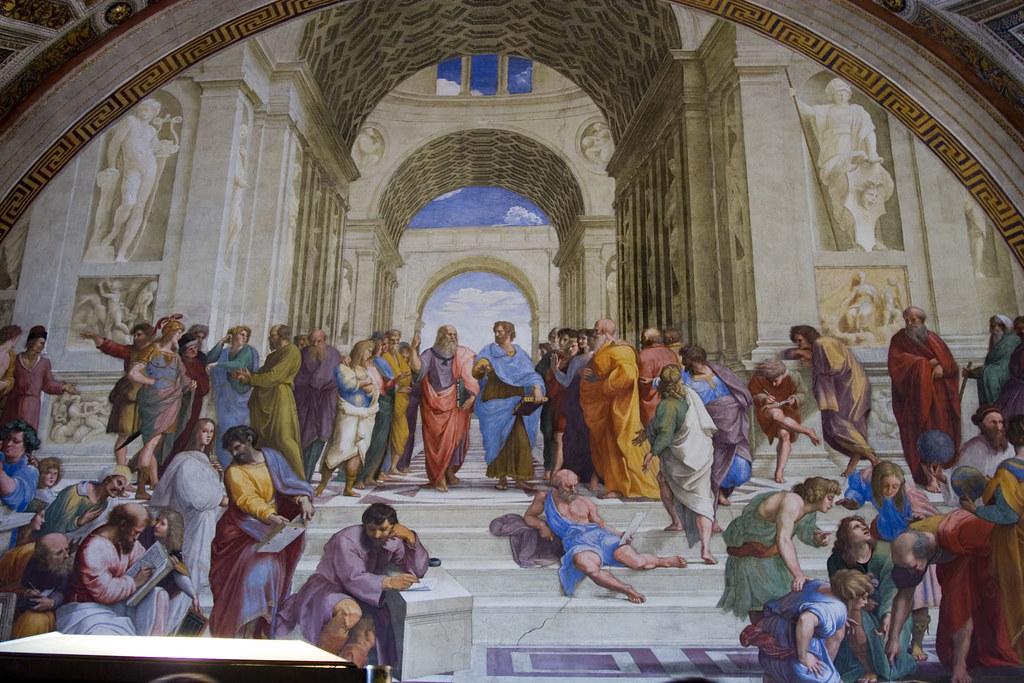 Raphaels School of Athens