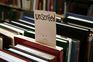 Unsorted books make librarians sad | by quinn.anya