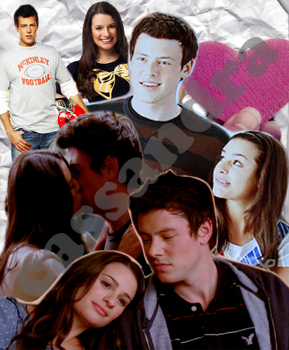 Finn Hudson And Rachel Berry Glee Love Phone Wallpape