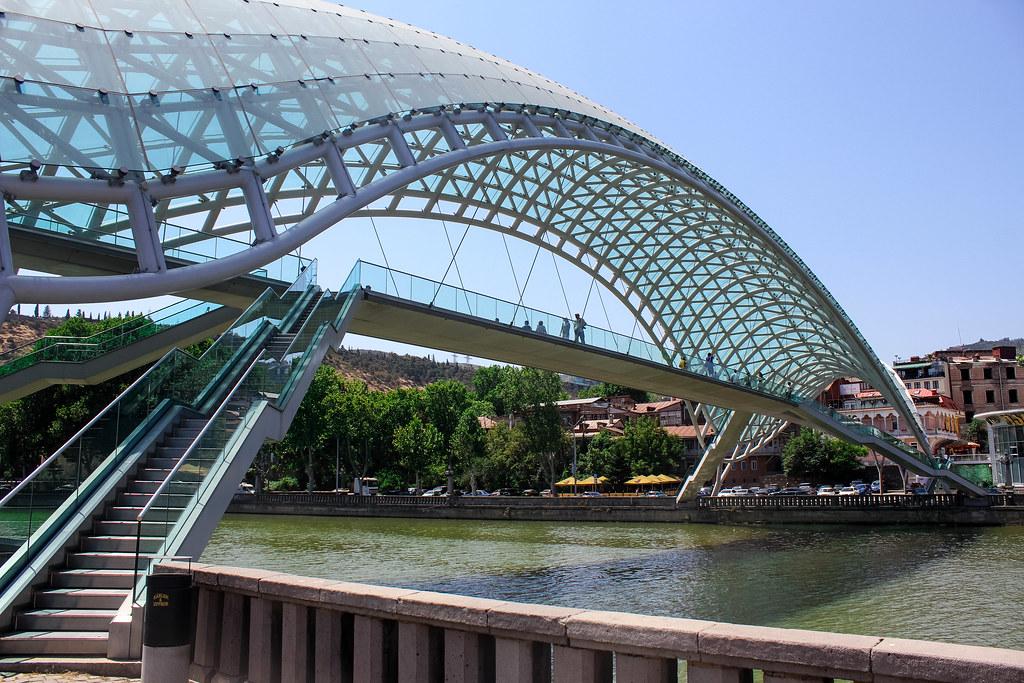 peace bridge Tbilisi: Instagrammable Spots In Tbilisi