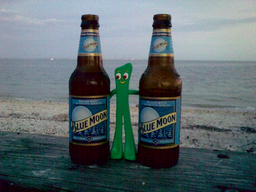 Gumby scores twins! On the Sanibel Island causeway with Bonnie and Richard | by Erin *~*~*