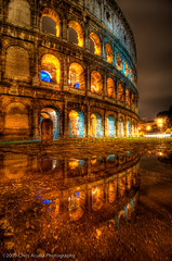 Colosseum Reflecting | by Sienar