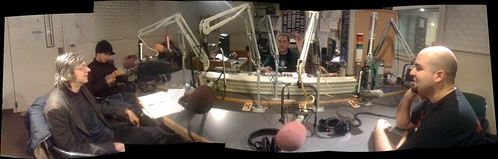 Panorama - off the hook in the wbai recording studio. | by bre pettis