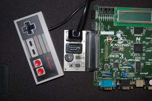 NES adapter for Spartan-3E dev board | by Armandas