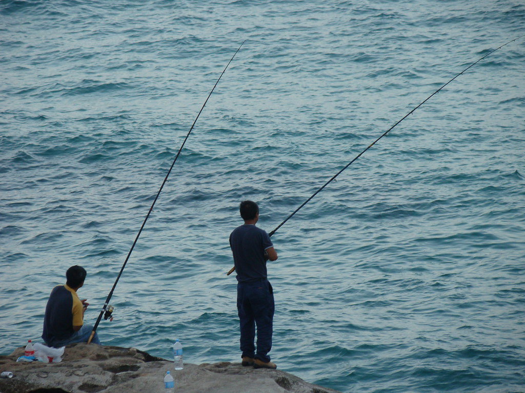 Fishing in Cocos Island