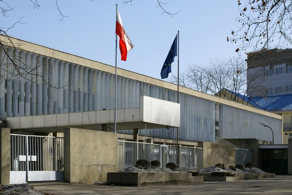 Polish Embassy, Pyongyang | 평양주재 뽈스까대사관 | Moravius