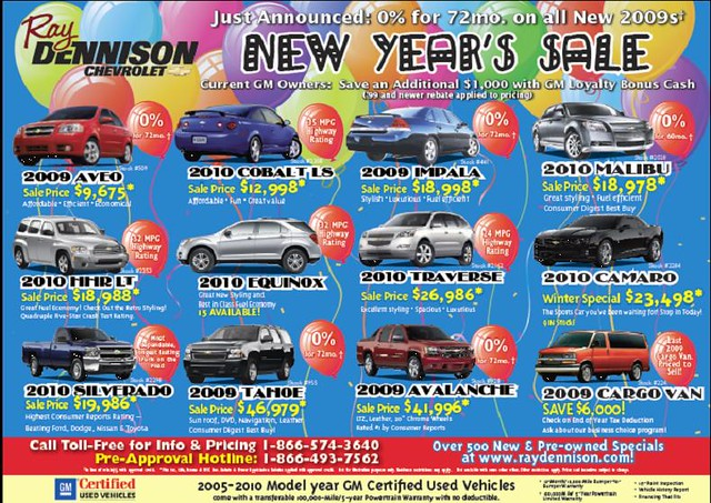 January 7th Newspaper Ad Ray Dennison Chevrolet Pekin Il Flickr