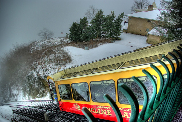 Lookout Mountain Incline Railway Top Station, Chattanooga, TN