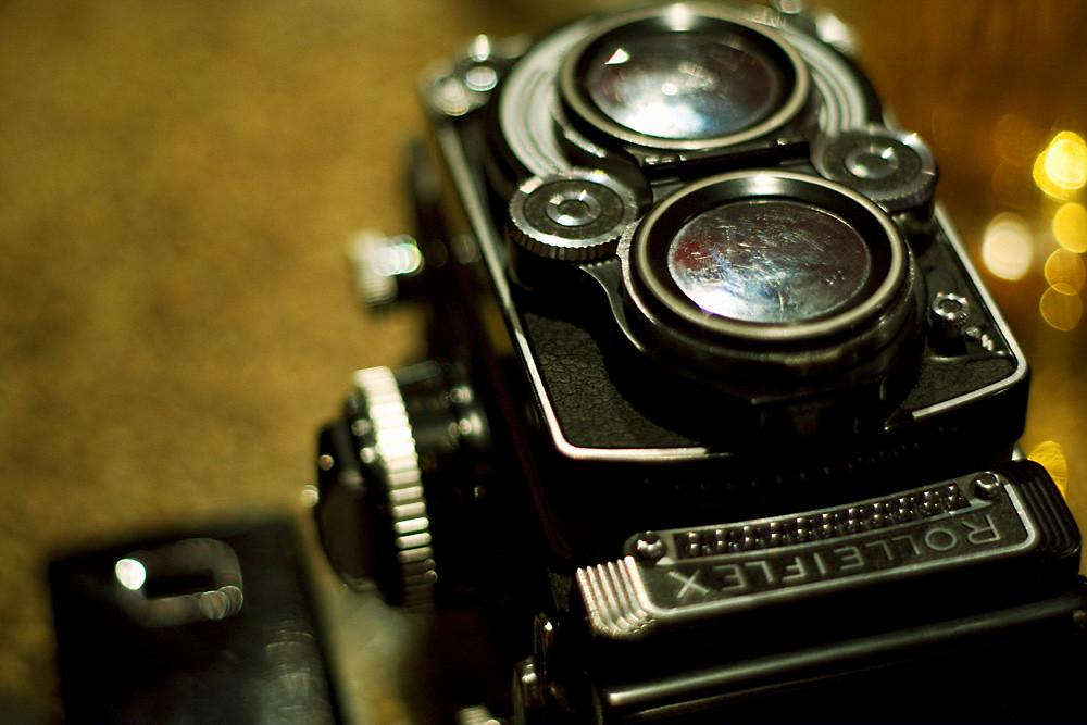 Portrait of the Rolleiflex as a Rolleiflex