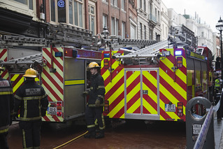 Grafton Street - Firemen In Action | by infomatique