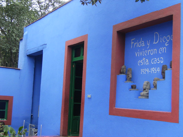 Frida Kahlo`s house