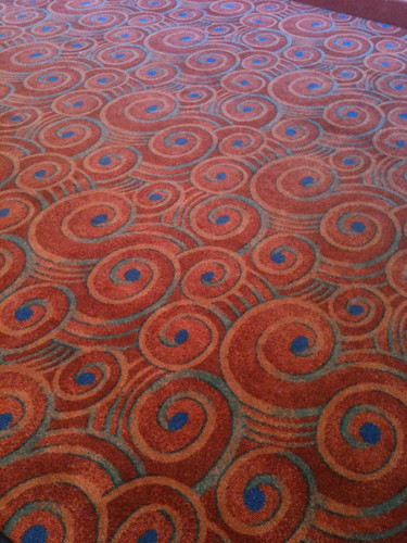 Carpet at Gammage Auditorium, Tempe AZ   by TadDonaghe