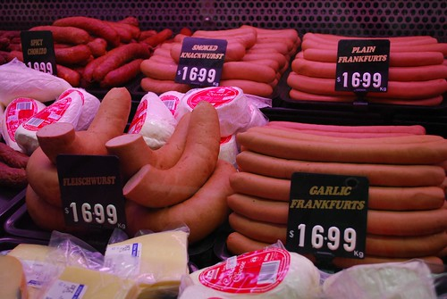 Sausages - Portman Continental Butchery | by avlxyz