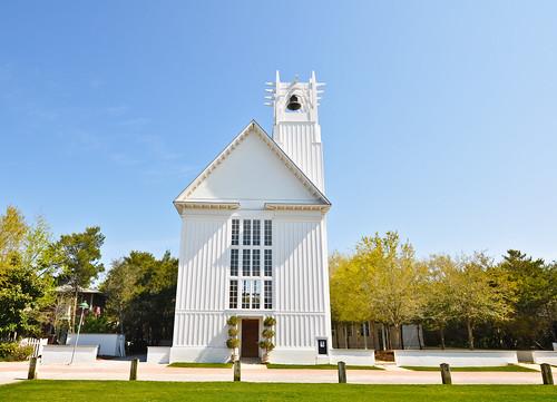 blue shadow white green church seaside chapel sonlight nikond90 perspecttive tokina1116mmf28
