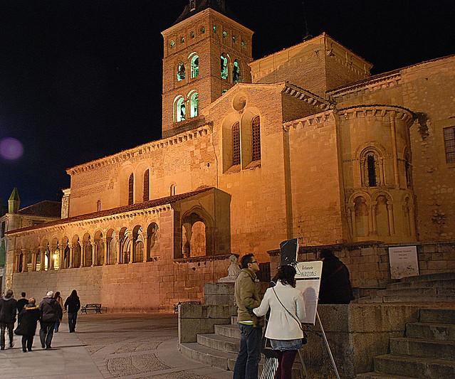 Segovia .San Martin. Patrimonio dela Humanidad.