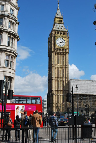Big Ben with London Bus | by London OE