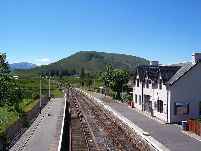 Achnasheen Railway Station House, Achnasheen, Highlands, July 2005