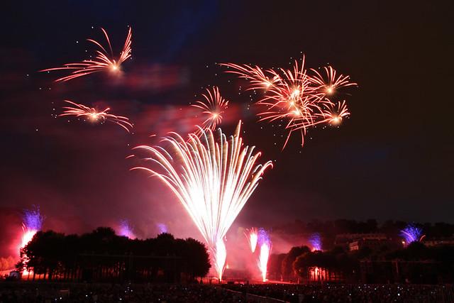 Grand feu d'artifice de Saint-Cloud 2010