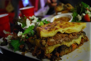 Beef Lasagne with Salad - Ladle Food Store AUD10 | by avlxyz