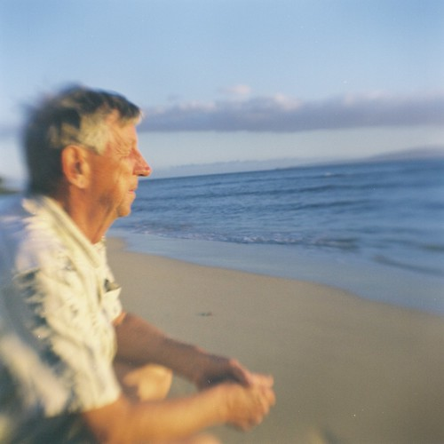 portrait of my dad in kihei | by just_jeanette