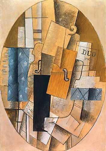 """Georges Braque """"Still Life with Violin"""""""