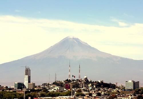 La paz del Popocatepetl