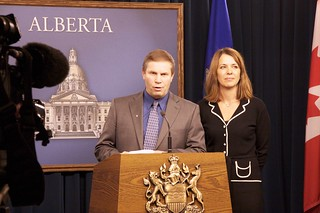 MLA Paul Hinman and Danielle Smith | by dave.cournoyer