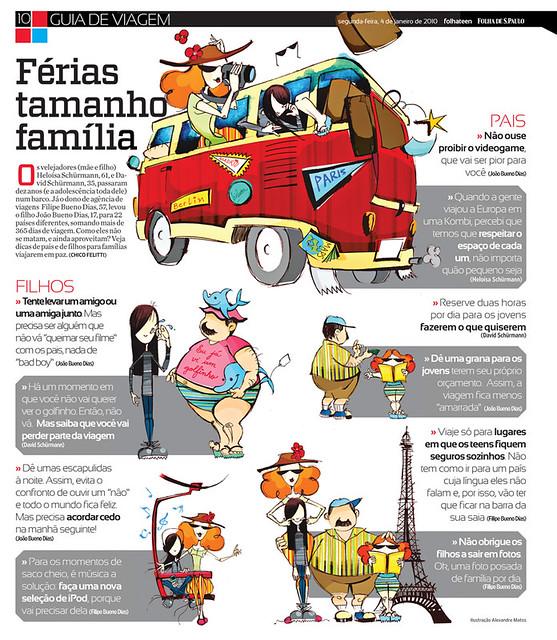 pais e filhos em viagem